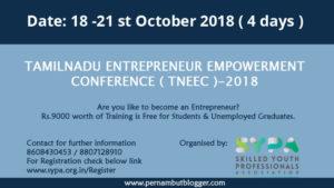 TAMILNADU-ENTREPRENEUR-EMPOWERMENT-CONFERENCE-(-TNEEC-)-2018