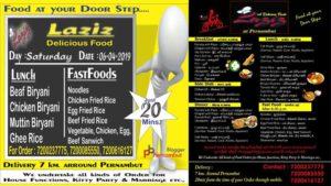 Pernambut-food-home-delivery-laziz-fast-food