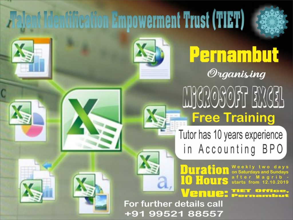 Talent Identification Empowerment Trust (TIET) Pernambut