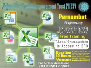 Talent Identification Empowerment Trust (TIET) Pernambut